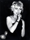 Debbie Harry performing with Blondie at the State Theatre in Sydney
