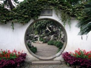 Suzhou Garden Doorway