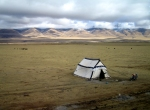 Tent on the Tibetan Plateau