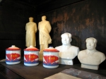 Mao memorabilia on sale in the 'funky' shops of the French Concession - Shanghai, China